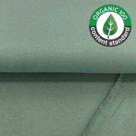 Teplákovina BIO old green