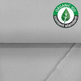 Teplákovina BIO light grey