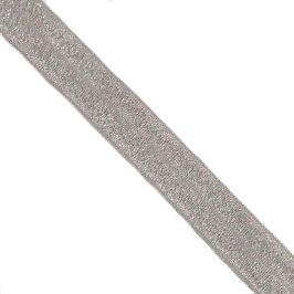 Lemovacia guma glitter 20 mm grey