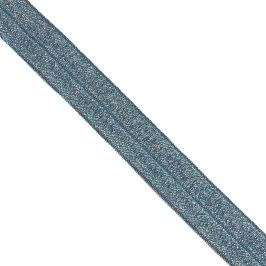 Lemovacia guma glitter 20 mm dark blue