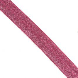 Lemovacia guma glitter 20 mm fuchsia
