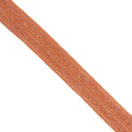 Lemovacia guma glitter 20 mm orange
