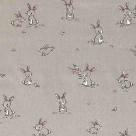 Bunny & Bird grey