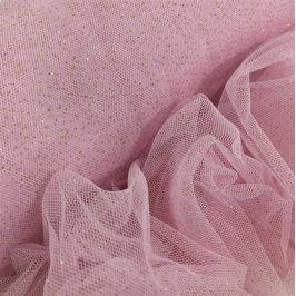 Tyl na TUTU Royal sparkle lilac