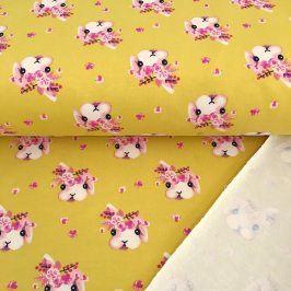 Teplákovina Rabbit Bella yellow