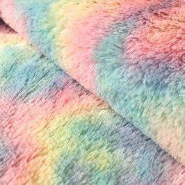 Umelá kožušina pastel