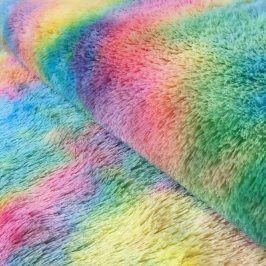 Umelá kožušina multicolour