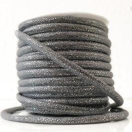 Semišová šnúra Luxe grey