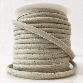 Semišová šnúra Luxe ecru