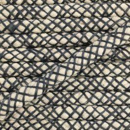 Bavlnená šnúra 1 cm grey