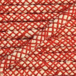 Bavlnená šnúra 1 cm red