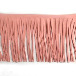 Strapce 12 cm semiš light pink