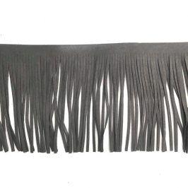 Strapce 12 cm semiš dark grey