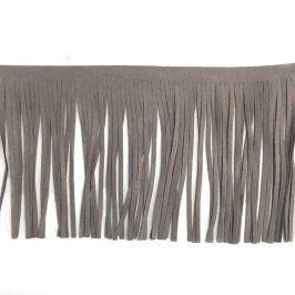 Strapce 12 cm semiš light grey