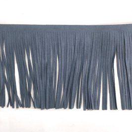 Strapce 12 cm semiš jeans
