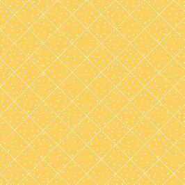 THE QUILTED COTTAGE Diamond yellow