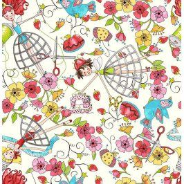 THE QUILTED COTTAGE Sewing fairies cream