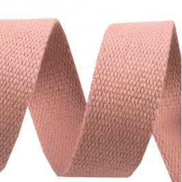 Popruh bavlna 3 cm staroružová