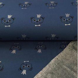 Alpenfleece Teddy king blue