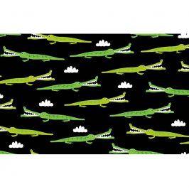ON THE ROAD Alligators black