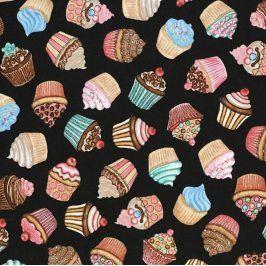 HOME SWEET HOME Cupcakes black