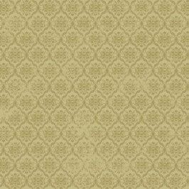 BIRDS OF A FEATHER Damask olive