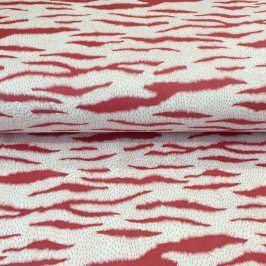 Umelá kožušina Zebra red