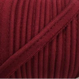 Paspulka úplet dark red