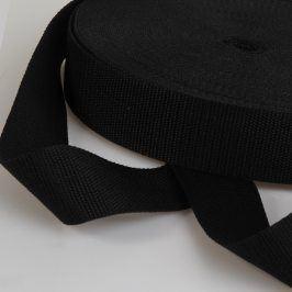 Popruh 4 cm čierna
