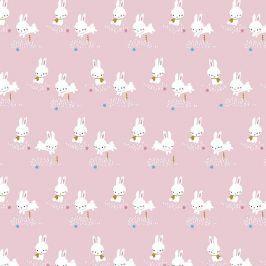 Úplet Binky bunny rose