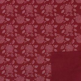 Softshell zimný Lotus flower pink