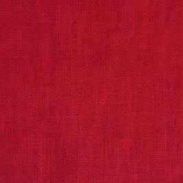 Linen enzyme washed red