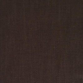 Linen enzyme washed dark brown