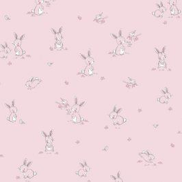 Bunny & Bird pink