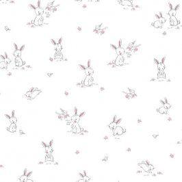 Bunny & Bird white