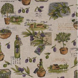 Dekoračná látka Olive