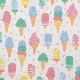 Dekoračná látka Pastel ice cream