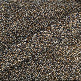 Bavlnená šnúra plochá 20 mm Multi 9