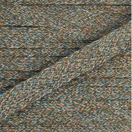Bavlnená šnúra plochá 20 mm Multi 2