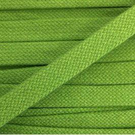 Bavlnená šnúra plochá 20 mm dark lime