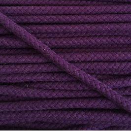 Bavlnená šnúra 8 mm purple