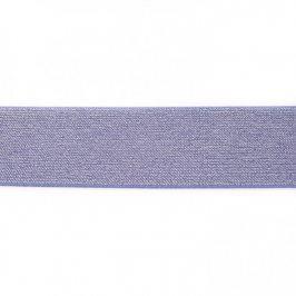 Guma hladká 5 cm glitter jeans
