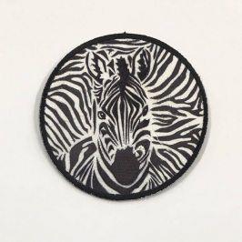 Sticker BASIC Zebra b&w