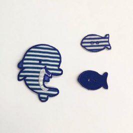 Sticker BASIC Dolphin Family