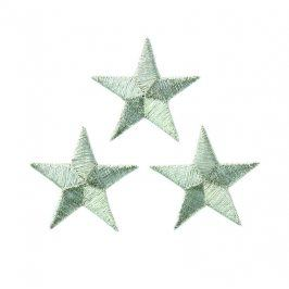Sticker BASIC Stars silver