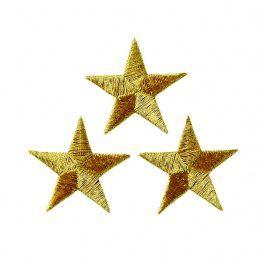 Sticker BASIC Stars gold