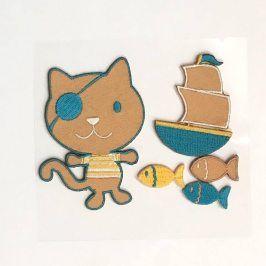Sticker BASIC Pirat Cat