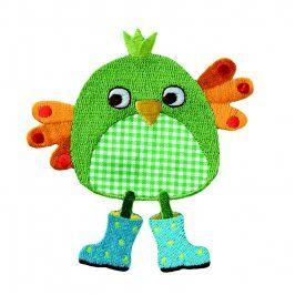 Sticker BASIC Birdie green