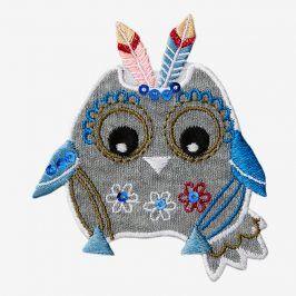 Sticker BASIC Owl Indian