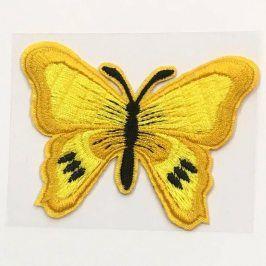 Sticker BASIC Butterfly yellow